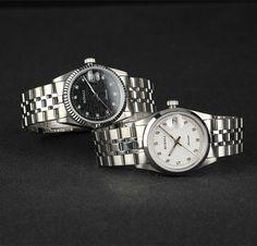 6 day countdown to Valentine's Day! Diamond lover's watches shine bright this Valentine's Day!