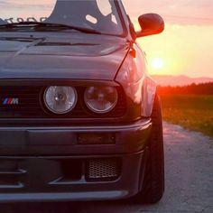 BMW M3 E30. What a beautiful shot of a mint car!