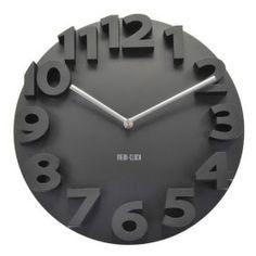 Reloj de pared 3D números | Relojes de Pared