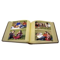 Kleer Vu Leatherette 160-picture 4x6 Photo Album - Overstock™ Shopping - Big Discounts on Photo Albums