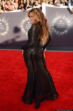 Beyonce in Nicolas Jebran, 2014 VMAs.