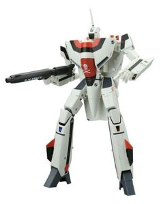 """Macross Hikaru Ichijo VF-1A Transformer 1/60 Scale by Yamato. $137.45. # Size: Fighter: a length of about 250 mm. Imported from Japan. Official Licensed Product. # Material: Body ABS, PVC (non-phthalate), zinc alloy, more. 1 / 60 to VF-1S more complete transformation, which is """"1 / 60 Perfect Akira Itizyou machines deformation VF-1A"""" lineup! Fighter BATOROITO moth walk three forms of terror to achieve the transformation gimmick as they are deformed, over minor details over th..."""