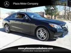 2016 Mercedes Benz E-Class E400 4Matic Coupe(Black)Plaza Motor Company | (314) 720-6049 Vehicles for sale in Creve Coeur, MO 63141