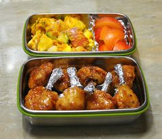 단호박감자샐러드 Asian Recipes, Ethnic Recipes, Bento Ideas, Lunch Ideas, Bento Box, Korean Food, Meat, Lunches, Cooking