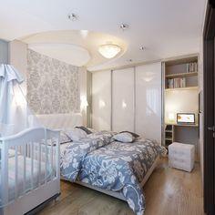 schlafzimmer ideen gestaltung farben beige braun tapete damask ... - Schlafzimmer Lila Beige