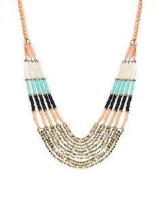 Image 1 ofALDO Thaledda Beaded Collar Necklace
