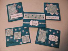 One Sheet Wonder 6X6 Christmas Cards Scrap Rx