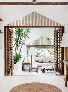 Holiday at this Brazilian escape in lush tropical gardens? More details on the blog! (Kid & Coe).
