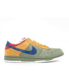 new styles 4c417 caa7d Dunk Low Premium Sb Puff N Stuff Oil Green, International Blue 313170-341  Sneakers
