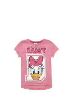 Clothing at Tesco | Disney Daisy Duck T-Shirt > tops > Tops & T-shirts > Younger girls