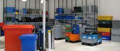 étagères de stockage pour bacs plastiques d'archivage