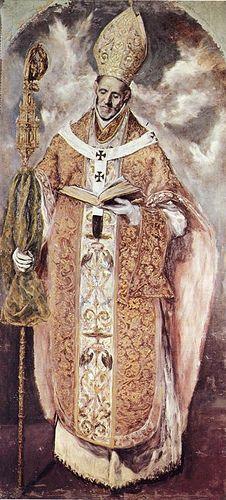 El Greco (1541-1614) - 1610-14 St. Ildelfonso (Escorial, Spain)
