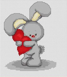 Bunny Heart Forever Friends Cross Stitch Kit By Luca S