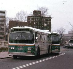 DC Flxible New Look Transit Bus - 1968