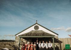 Let Love's Magic Work - wedding at Clonabreany House - Norah & Ciaran October Wedding, Wedding Story, Real Weddings, Gazebo, Wedding Photography, Exterior, Outdoor Structures, Cabin, Autumnal