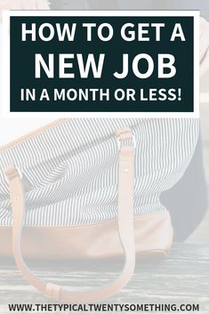 Here's a full guide on how to land a new job quickly with these 5 tips! This career advice includes free template for your job application! Job Resume, Resume Tips, Resume Ideas, Resume Examples, Find A Job, Get The Job, Job Interview Tips, Interview Questions, Job Interviews