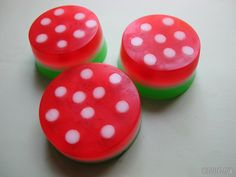 "How to make ""fly-agaric soap"" of the soap base. Every child will like the bright and funny fly-agaric soap. Due to the recognizable spots on the red surface you can make such a ""fly-agaric"" even if there is no special mushroom mold. You can make..."