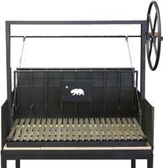 Bear Series Argentine and Umbrian Wood Burning Grill Pits