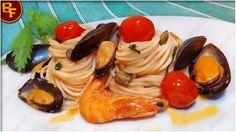 Il Bello del Fornello Spaghetti ai frutti di mare all'ortica