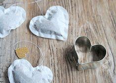 Teebeutel in Herzform | DIY LOVE