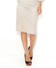 lace pencil skirt :)  love