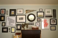 a home in the making: {create} a gallery wall + sources