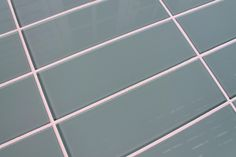 Seaside Blue/Gray/Green 4x12 Glass Subway Tiles