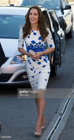 Catherine, Duchess of Cambridge visits Youthscape on August 24, 2016 in Luton…