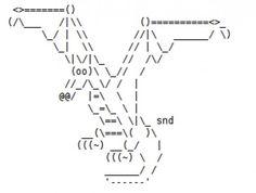 Art ascii symbol Text Art