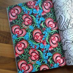 Kleurboek voor volwassenen. © Jessica van Leeuwen
