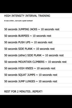 For Killing That Workout! NEW At-Home HIIT! This High Intensity Interval Training workout is a quick butt kick. Knowing that I only need to finish it helps keep me motivated to stay in shape! Body Rock Tv, Fitness Tips, Fitness Motivation, Health Fitness, Fitness Classes, Fitness Workouts, Physical Fitness, Fitness Goals, Fun Workouts