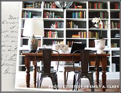 I pinned this from the A Sophisticated Study - Library Furniture & Learned Decor event at Joss and Main!