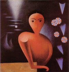 Jan Zrzavy, Portrait of Mrs. Harlem Renaissance, New Objectivity, Amsterdam School, Magic Realism, Art Deco, Cubism, Roman Catholic, Belle Epoque, Prague