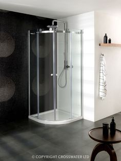 Shower Enclosures from Opulenza by Tubs and Loos Bathroom Shower Enclosures, Quadrant Shower Enclosures, Double Doors, Bathtub, Home, Google Search, Ideas, Standing Bath, House