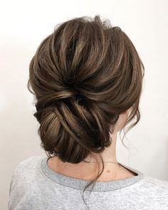 Hochzeit Frisur Ideen + schicke Hochsteckfrisur für Brautjungfern Hochzeitsfris… Wedding hairstyle ideas + chic updo for bridesmaids wedding hairstyle, wedding ha … – bridesmaid hair, makeup + Brown Wedding Hair, Wedding Hair And Makeup, Hairstyle Wedding, Bridesmaid Updo Hairstyles, Chignon Updo Wedding, Wedding Guest Hair, Long Hair For Wedding, Wedding Hair With Veil Updo, Long Prom Hair