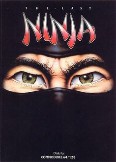 The Last Ninja Commodore 64 Front Cover