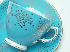 Colclough Vintage Fine Bone China Tea Cup and by TheVintageFind1