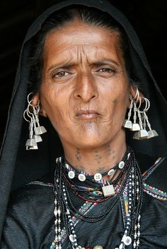 India - Gujarat - Machhukanah Rabari woman