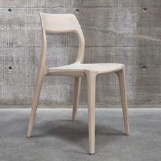 Swedish design consultancy Veryday picked up a Gold Award at the iF Design Awards last week for this wooden chair created for an art and design centre in Stockholm. #Scandinavian #WoodenChair