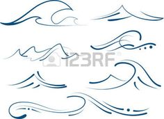 43546726-set-of-different-simple-stylized-pinstripe-ocean-waves.jpg (350×254)