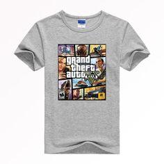 GRAND THEFT AUTO V GTA Poster Style Shirt