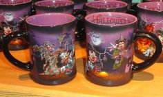 Sweet Disney Halloween Mugs