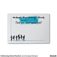 Celebrating School Psychology Week 2015 Post-its by schoolpsychdesigns of Zazzle.com