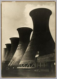 Koeltorens Staatsmijnen | Cooling Towers State Mines   13   Next  Koeltorens Staatsmijnen, Limburg. Architecten: F.K. van Iterson en G. Kuipers.  Fotograaf: onbekend. Collectie NAi | TENT_n176.