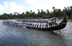 Snake Boat Race, Kerala backwaters, August & September