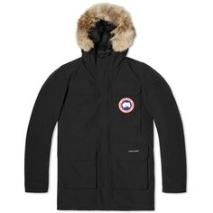 Canada Goose Citadel Parka ($1,140) ❤ liked on Polyvore featuring men's fashion, men's clothing, men's outerwear and men's coats