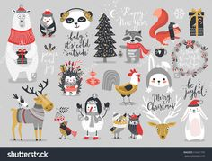 https://image.shutterstock.com/z/stock-vector-christmas-set-hand-drawn-style-calligraphy-animals-and-other-elements-vector-illustration-516421795.jpg