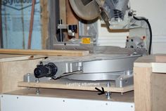 Upgraded Miter Saw Stand