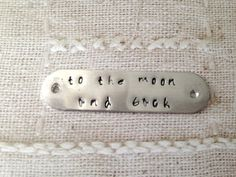 Hand-Stamping on upcycled silverware items...Listing for additional hand-stamping...add-on to other listings for upcycled hand-stamping (0.95 USD) by SilverBellesCrafts