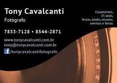 Tony Cavalcanti Fotógrafo - Fotos de casamentos, aniversários, ensaios, feiras e eventos!